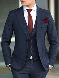Ericdress Vogue Elegant Slim Three-Piece of Mens Suit