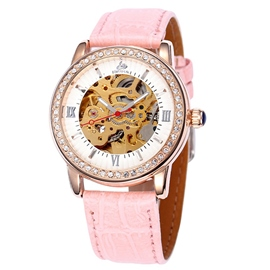 Ericdress Diamante Hollow Automatic Mechanical Watch