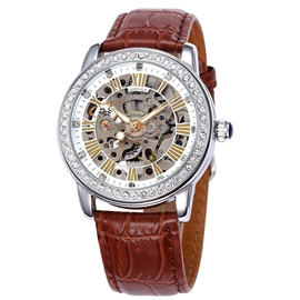Ericdress Casual Hollow Automatic Mechanical Watch