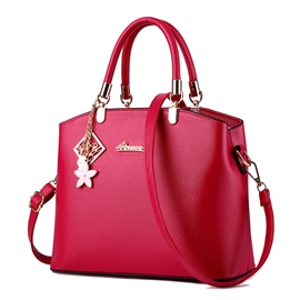 Ericdress Pure Color Embossed Handbag