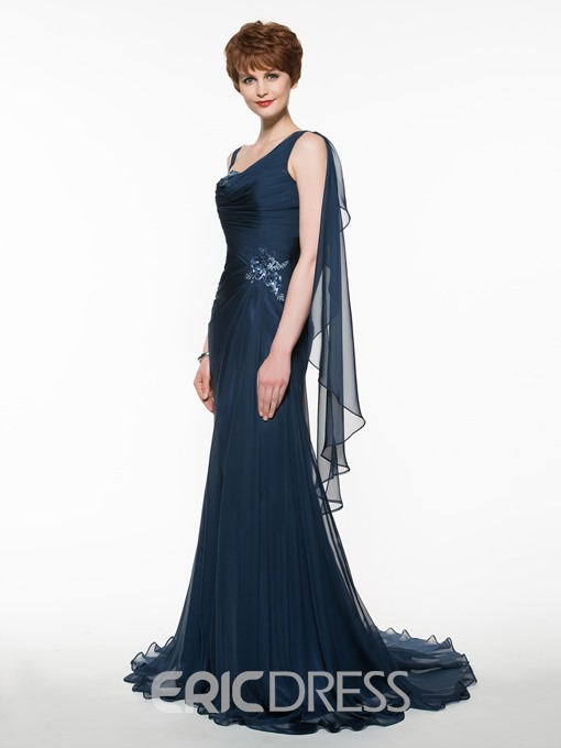 Ericdress Beautiful Straps A Line Mother Of The Bride Dress