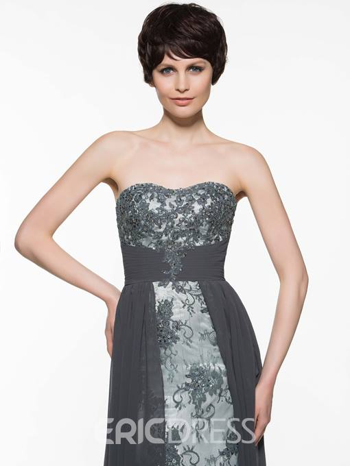 Ericdress Appliques Beading Mother Of The Bride Dress With Jacket