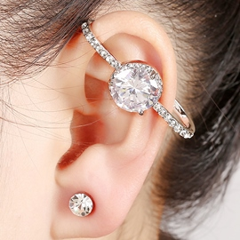 Ericdress Shining Rhinestone Inlaid Ear Cuff