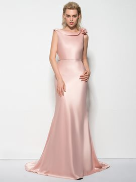 Ericdress Mermaid Cowl Beading Sweep Train Evening Dress