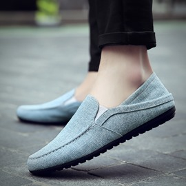 Ericdress Linen Round Toe Men's Loafers