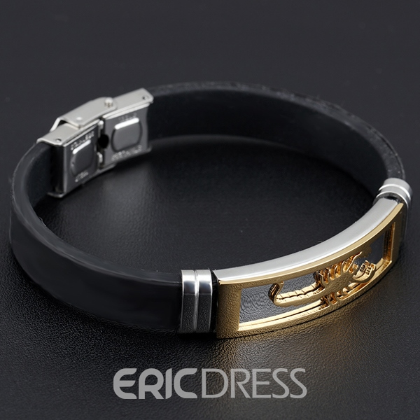 Ericdress Cool Scorpion Men's Bracelet