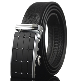 Ericdress Men's Plaid Automatic Belt