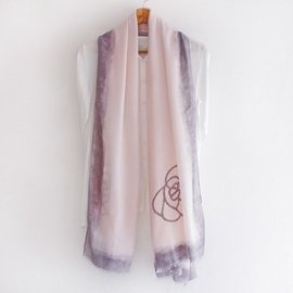 Ericdress Simple Rose Print Cashmere Scarf