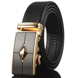 Ericdress Stripe Embossed Men's Automatic Belt
