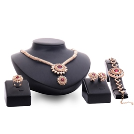 Ericdress Sun Gemstones Alloy Jewelry Set