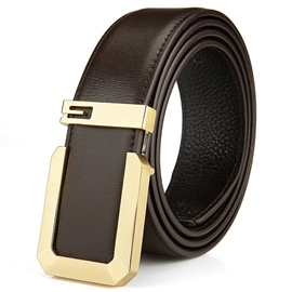 Ericdress Smooth Buckle Business Men's Belt