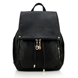 Ericdress Casual Embossed Bucket Backpack