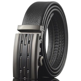 Ericdress Black Stripe Men's Automatic Belt
