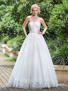 Ericdress Classica Beaded Appliques Sweetheart A Line Wedding Dress