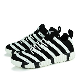 Ericdress Zebra Lace up Men's Sneakers