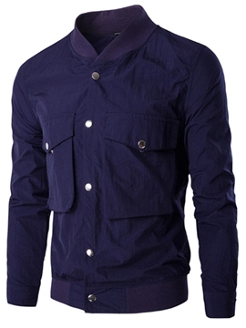 Ericdress Big Pocket Simple Casual Men's Jacket