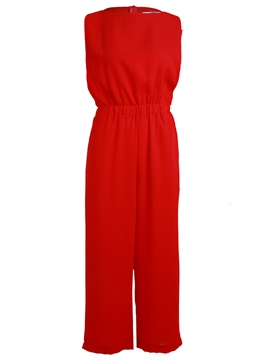 Ericdress Solid Color Simple Jumpsuits Pants