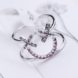 Ericdress Lovely Smile Shaped Ring