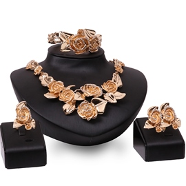 Ericdress Alloy Flowers Party Jewelry Set