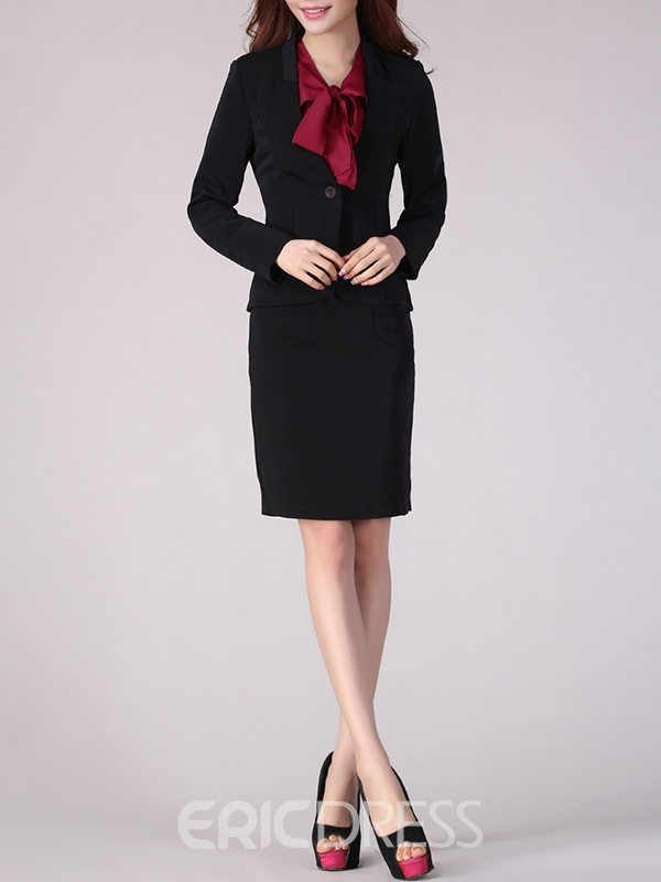 Ericdress Two-Piece Blazer Suit