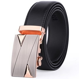 Ericdress Simple Geometric Patchwork Men''s Belt