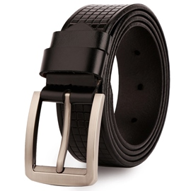 Ericdress Men's Checkered Belt