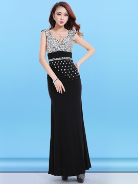 Ericdress Pleated Sequins Vogue Sexy Clubwear