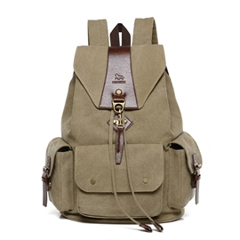 Ericdress Vintage Unisex Travel Backpack