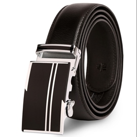 Ericdress Genuine Leather Automatic Buckle Men's Belt