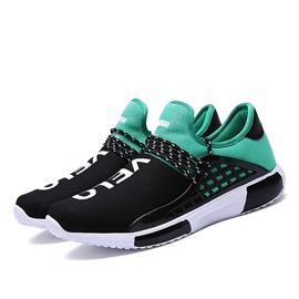 Ericdress Mesh Contrast Color Lace up Men's Athletic Shoes