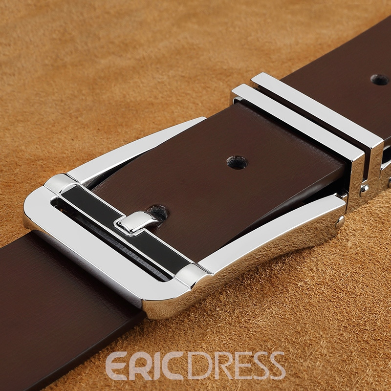 Ericdress All Match Pin Buckle Leather Belt