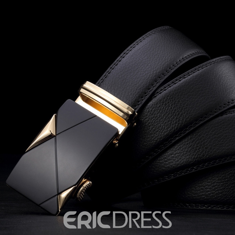 Ericdress Automatic Buckle Genuine Leather for Business Men