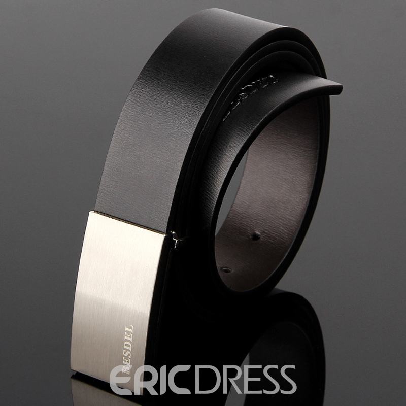 Ericdress Genuine Leather Men's Belt