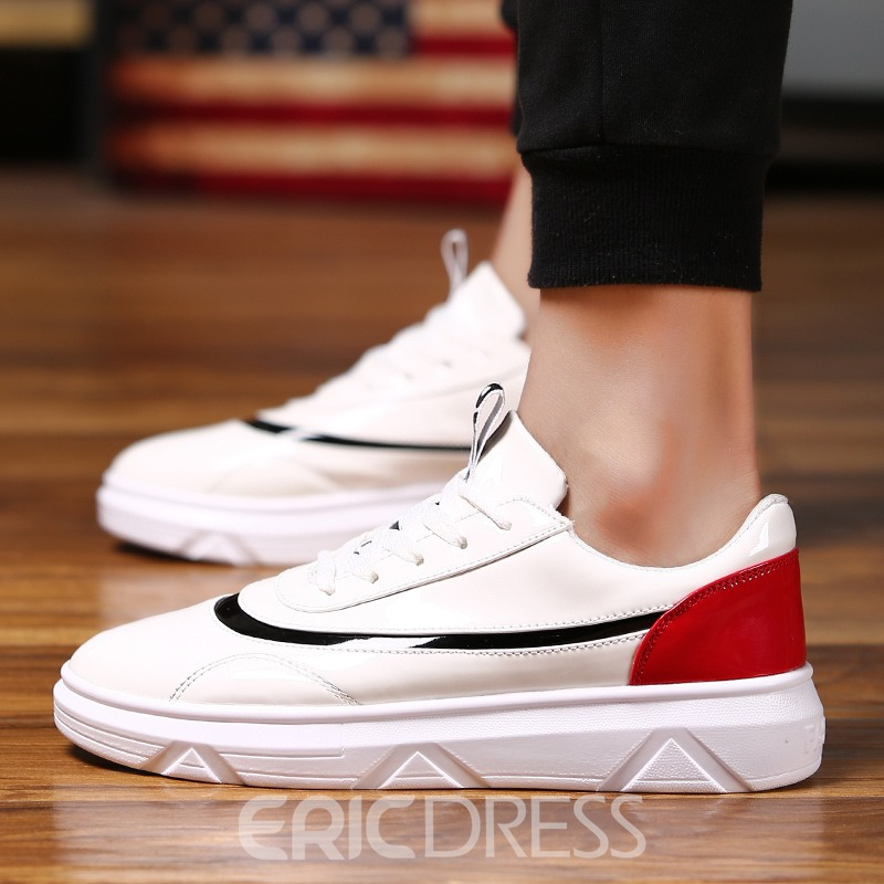 Ericdress Contrast Color Breathable Men's Sneakers