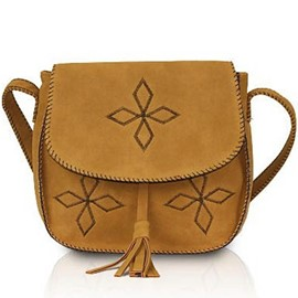Ericdress Vintage Bohemian Embroidery Crossbody Bag