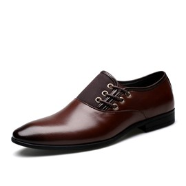 Ericdress Patchwork Thread Point Toe Men's Oxfords