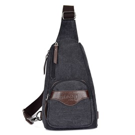 Ericdress Men European Canvas Sling Bags