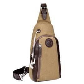 Ericdress European Unisex Canvas Waist Bags
