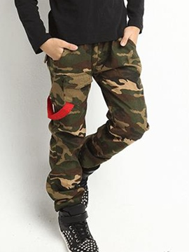 Ericdress Camouflage Boys Casual Pants