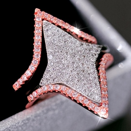 Ericdress Beautiful Star Diamante Ring
