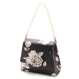 Ericdress Pearl Floral Print Shoulder Bag