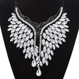Ericdress Rhinestone Inlaid Alloy Necklace