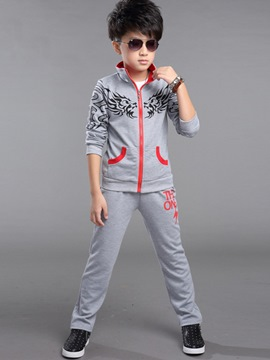 Ericdress Print Boys Sports Outfit
