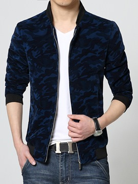 Ericdress Zip Camouflage Vogue Slim Men's Jacket