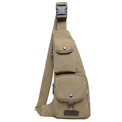 Ericdress European Patchwork Canvas Sling Bags