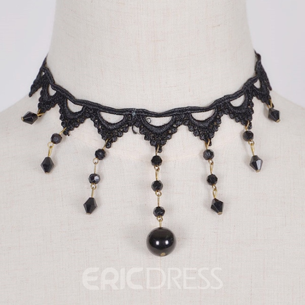 Ericdress Vintage Style Lace Necklace