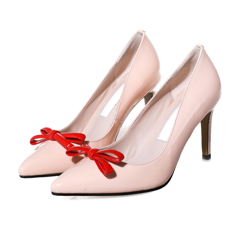 Ericdress Elegant OL Bowtie Pointed Toe Pumps