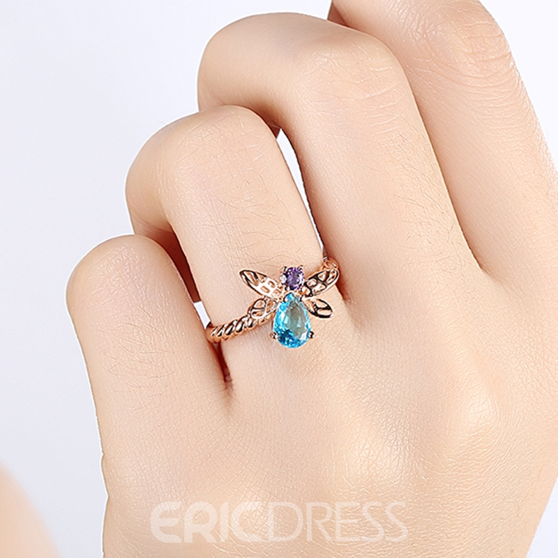 Ericdress Sweet Bee Shaped Daily Ring