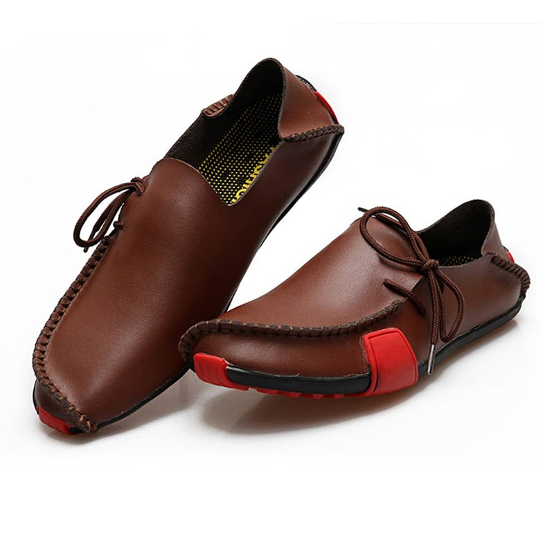 Ericdress All Match Patchwork Round Toe Men's Loafers