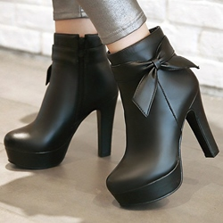 Ericdress Charming Bowtie Platform Knight Boots фото